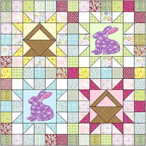 Quilt Kit Easter Hopping Super Special SALE held Spring new work one after another Lap Spring Into