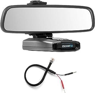 Radar Mount Mirror Mount Bracket + Mirror Wire Power Cord for Escort IX EX Max360C (3001107)