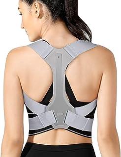 comprar comparacion Corrector Postura Espalda y Hombros, Corrector de Espalda para Hombre y Mujer, Corrector Postura para Espalda Ajustable, A...