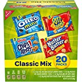 Nabisco Classic Mix Variety Pack, OREO Mini, CHIPS AHOY! Mini, Nutter Butter Bites, RITZ Bits...