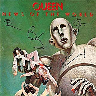 queen signed record