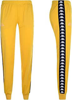 Kappa 971 Black//White Banda AT Abbigliamento Donna Pantaloni 303WCI0