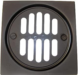 Simpatico 31341Ob Drain Tile Square Set With 4-1/4