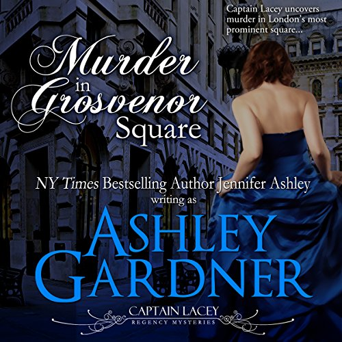 Murder in Grosvenor Square audiobook cover art