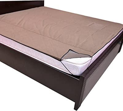 Kuber Industries™ Waterproof & Dustproof Mattress Protector,Waterproof Double Bedsheet (King Size) Green (MATT017)
