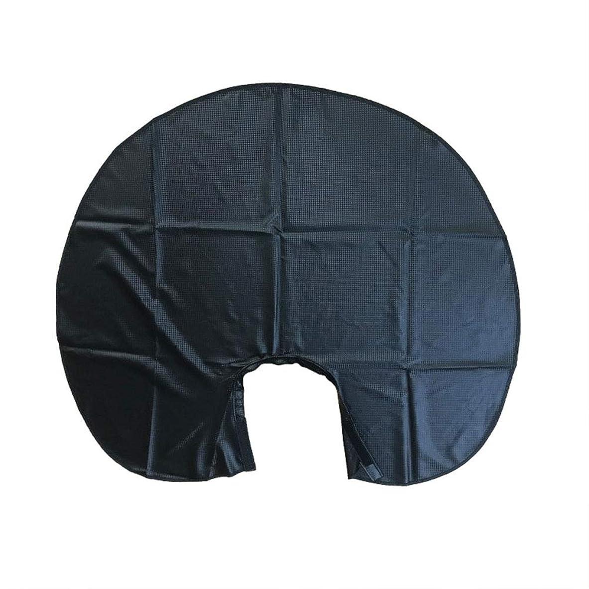 揃えるバックグラウンドなめらかなBeaupretty 1ピースヘアサロン切断エプロン防水ショートヘアケープケープ理髪店のドレス用理髪スタイリング