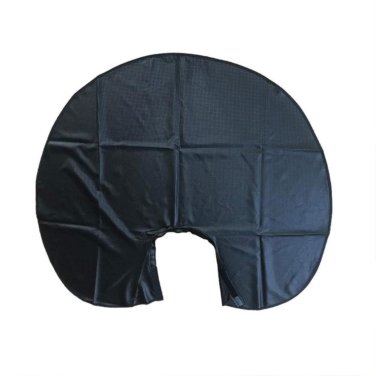アンティーク委託準拠Beaupretty 1ピースヘアサロン切断エプロン防水ショートヘアケープケープ理髪店のドレス用理髪スタイリング