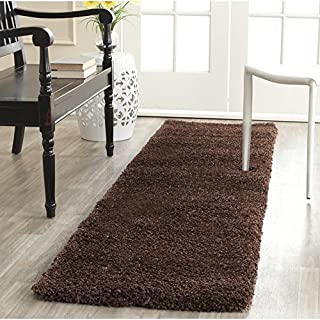 Safavieh Milan Shag Collection SG180-9090 Black Runner (2' x 8') (B01GS3PCP0) | Amazon price tracker / tracking, Amazon price history charts, Amazon price watches, Amazon price drop alerts