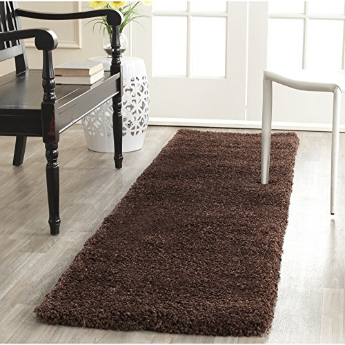 Safavieh Milan Shag Collection SG180-2525 Brown Area Rug (3' x...