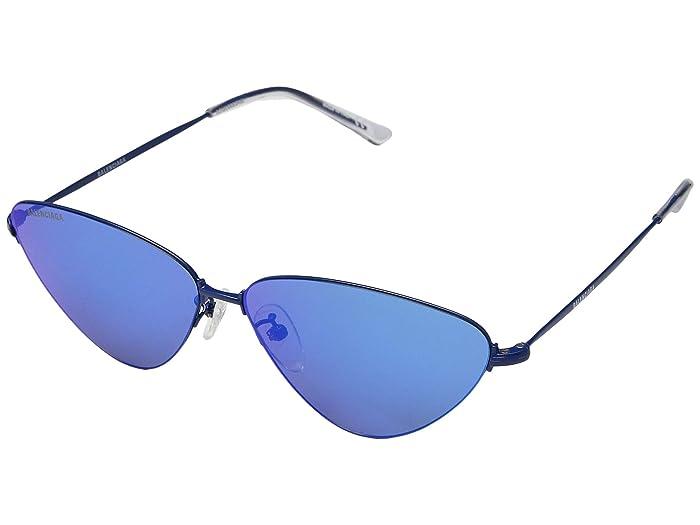 Balenciaga BB0015S (Blue) Fashion Sunglasses