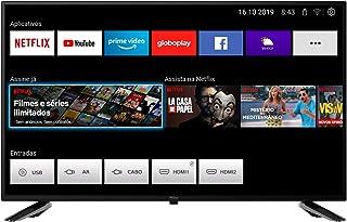 "Smart TV Full HD D-LED 43"", PTV43E10N5SF - Wi-Fi 2 HDMI 2 USB, Philco"