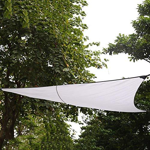 Ausla Dreieck Sonnensegel, Wasserdichter UV-Schutz Zeltplane, für Parkplätze, Tee, Kinderspielplatz, Garten und andere Orte, 300 x 300 x 300cm