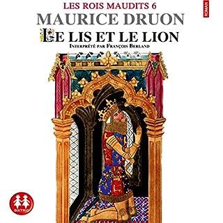 Le lis et le lion audiobook cover art