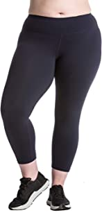 Plus Size Capri Leggings Sale - Premium Quality Women's Compression Yoga Pants for The Curvy Girl - Made in USA