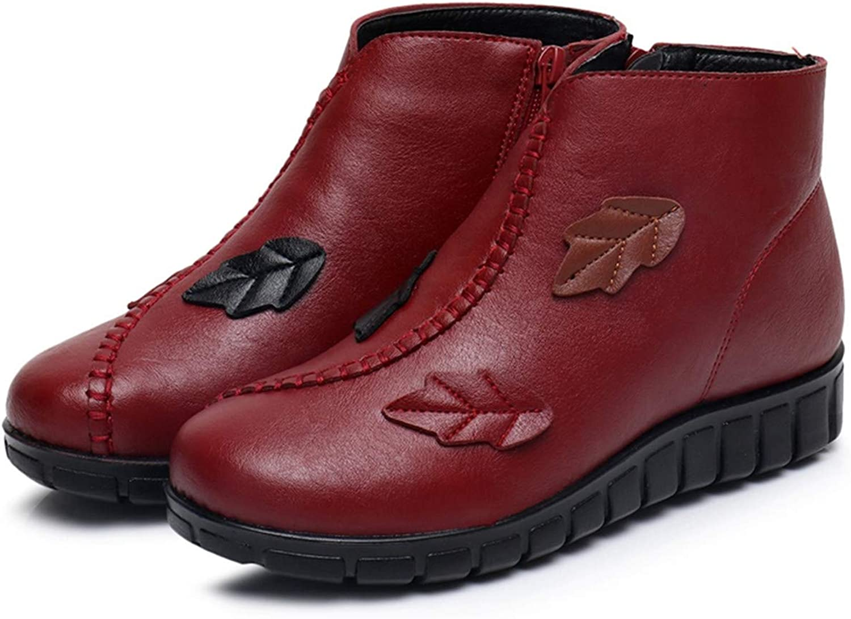 Sianaoi Cute Cat Warm Boots Women Family Christmas Cotton Winter shoes Women Boot