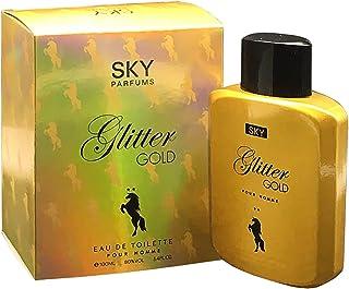 Sky Parfums Glitter Gold For - perfume for men 100 ml - Eau de Toilette