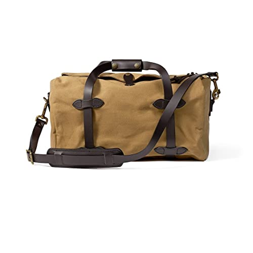d6cec6dcf Filson Small Duffle Bag, Tan, OS - Brass, 11070220-Tan-OS