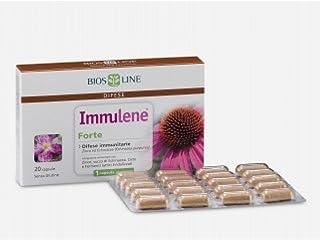 Bios Line 4364 Immulene Forte Integratore Alimentare - 20 Capsule, 12 g