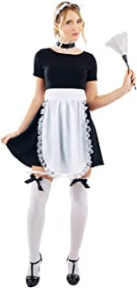 Women's French Maid Kit Adult Costume, French Maid Kit