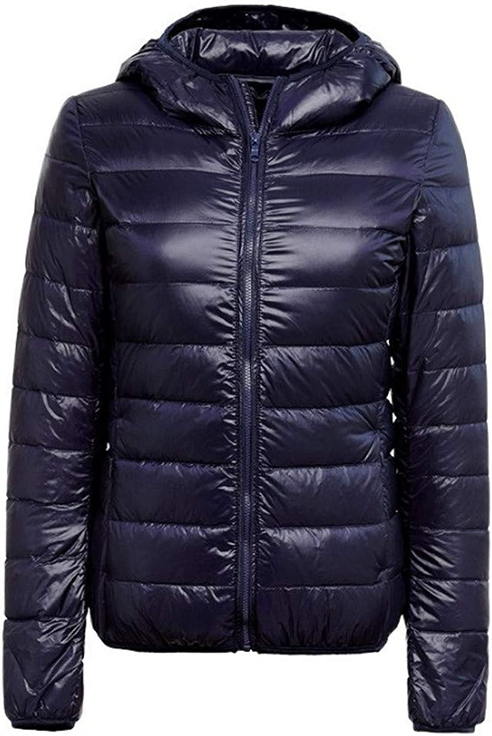 Aehoor Winter Down Jacket Womens UltraLight 90% Duck Down Coat Jacket Jacket Hooded