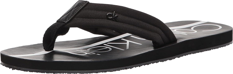 Calvin Klein Men's Diego Time sale Flip-Flop Be super welcome