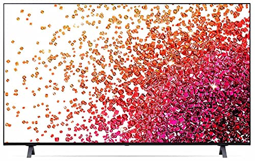 LG 139.7 cm (55 inches) 4K Ultra HD Smart NanoCell TV 55NANO73TPZ (Ashed Blue) (2021 Model)