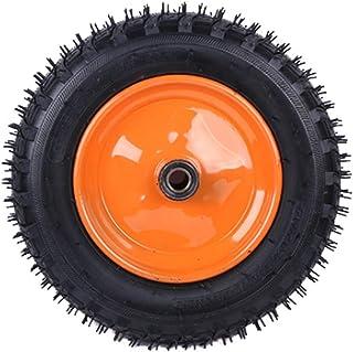 YJJT Rubber wiel, Vervangingswiel, Antislip, Slijtvast, Met Stalen Wielkern, Lading 180kg per wiel, Met dubbele lagers, La...