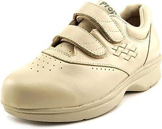 Propet Women's W3915 Vista Walker Sneaker,Bone Smooth,6 M (US Women's 6 B)