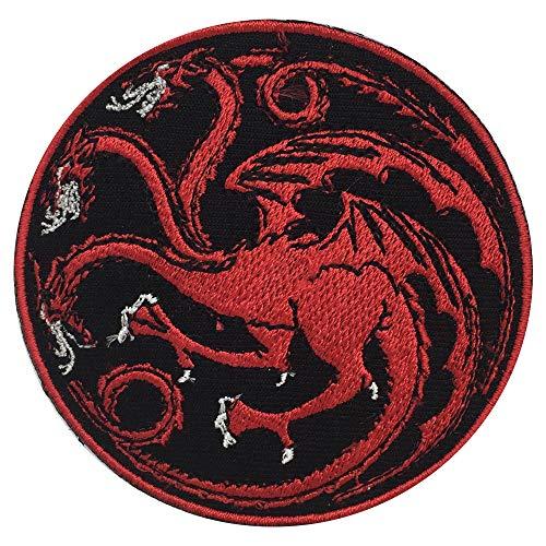 Parche bordado película Juego Tronos Targaryen, coser