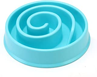 Fun Feeder Dog Bowl Slow Eating Bloat Stop Food Plate Maze Interactive Puzzle Cat Anti Skid