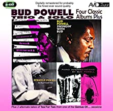 Four Classic Albums Plus (Strictly Powell / The Genius Of Bud Powell / Swingin With Bud / Piano Interpretations By Bud Powell) By Bud Powell (2011-06-27)
