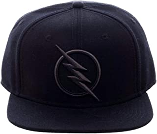DC Comics Black Flash - Zoom Licensed Embroidered Logo Snapback Cap Hat
