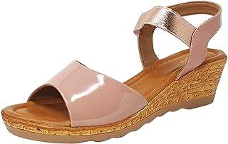 Lazera Women's Wedge heel Designers Editions