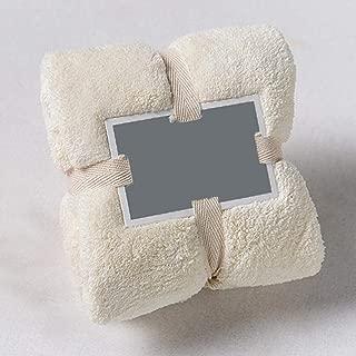 "Redpol Home Hotel Bathroom Colorful Solid Soft Super Absorbent Bath Towels(14.17 31.5"")"