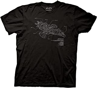 Ripple Junction Firefly Serenity Schematic Adult T-Shirt