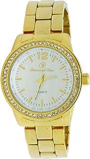 Diamond Dior Dress Watch For Women Analog Stainless Steel - D0947035