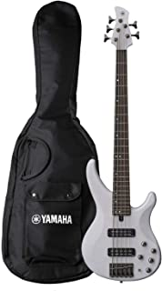 Best Yamaha TRBX505 TWH 5-String Premium Electric Bass Guitar,Translucent White Review