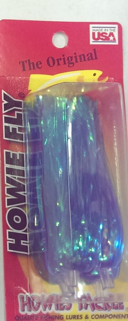 Philadelphia Mall Powder Blue Howie's Tackle Howie Fly Lure Max 73% OFF Unri Pack Fishing of 6