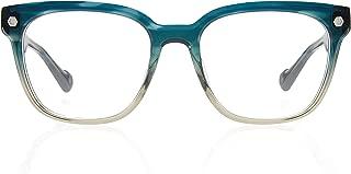Kingsley Rowe Harper:Unisex, square-round, Classic, Retro, Nerd, Optical Glasses Frames For Men and Women