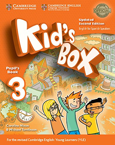 Kid's Box Level 3 Pupil's Book Updated English for Spanish