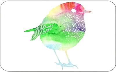 Bonamaison Tapis de Bain, Polyester, Multicolore, 100X60 Cm