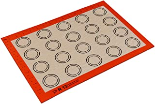 Yingm Tapis de Cuisson en Silicone 10 Silicone for Cuisson Tapis Pizza/Biscuits Et Pain Silicone Tapis Roulant 11,61 X 16,...