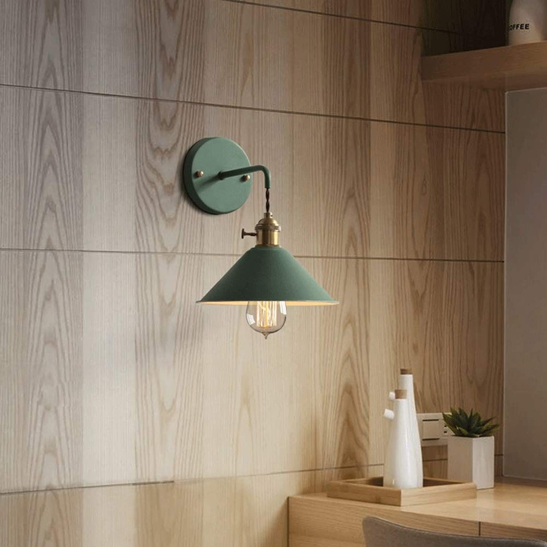 Zhang Ying ZY  Continental Creativity modernes Wohnzimmer Treppengang Schlafzimmer Büro Arbeitszimmer Nachtwandlampe (Farbe  GRüN)
