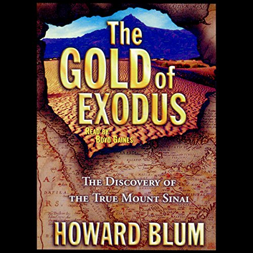 The Gold of Exodus audiobook cover art