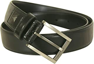 Guess Mens Stretch Belt Black 35mm Width 11GU02XZ03-001