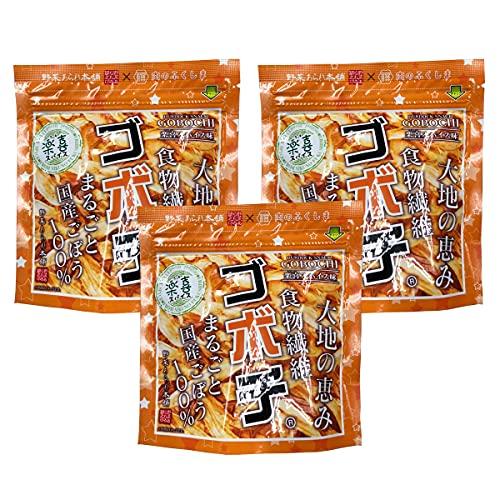 [デイリーマーム] ゴボチ 楽喜スパイス味 37g×3袋セット