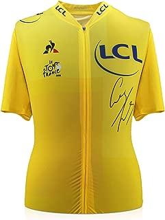 Geraint Thomas Signed Tour De France 2018 Pro Yellow Jersey | Autographed Jersey