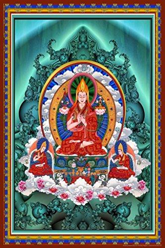 Buddha Bubbles Art Print Cool Huge Large Giant Poster Art 36x54