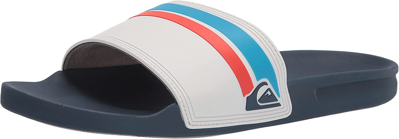 Quiksilver Cash special price Men's Rivi Slide With Sandal Comfort Hydrobound Over item handling