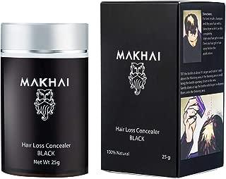 Makhai Hair Building Fibers/Concealer 25g (Black)